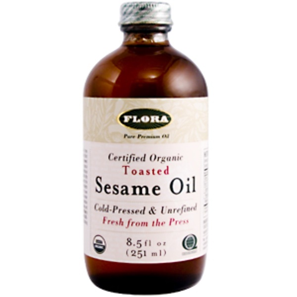 Flora, Sesame Oil, Toasted, 8.5 fl oz (250 ml) (Discontinued Item)