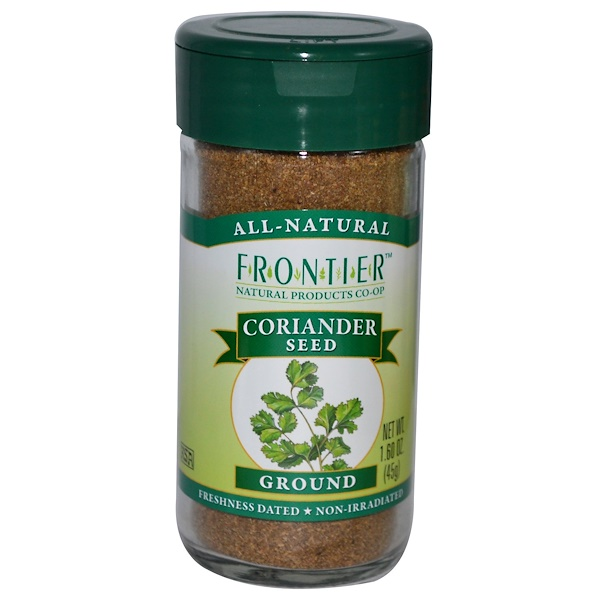 Frontier Natural Products, 芫荽种子,1.60 盎司(45 克)