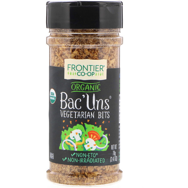 Frontier Natural Products, 有机素食Bac'uns酱,2.47 盎司 (70克)