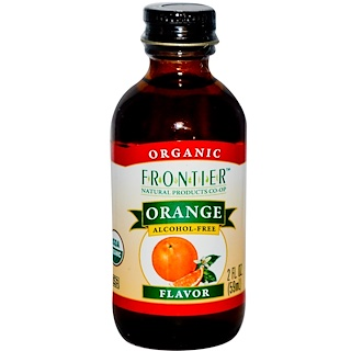 Frontier Natural Products, 有机橙风味,无酒精,2盎司(59毫升)