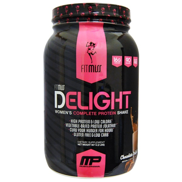 Delight, Women's Complete Protein Shake, Chocolate Delight, 2 lbs (907 g)