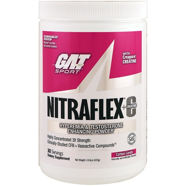 GAT, Nitraflex+C Cotton Candy