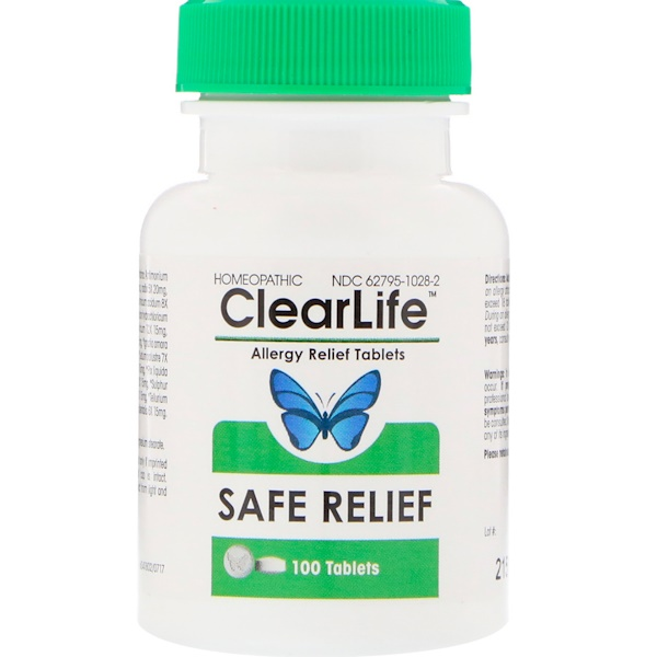 ClearLife, Allergy Relief Tablets, 100 Chewable Tablets