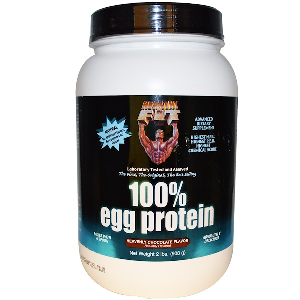 Healthy N Fit, 100% Egg Protein, Heavenly Chocolate Flavor, 2 lbs (908 g) (Discontinued Item)