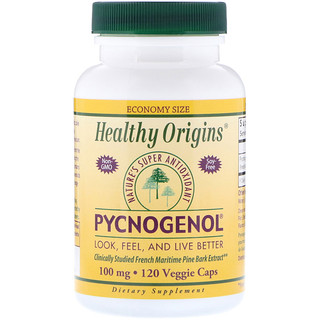Healthy Origins, Pycnogenol胶囊,100毫克,120粒