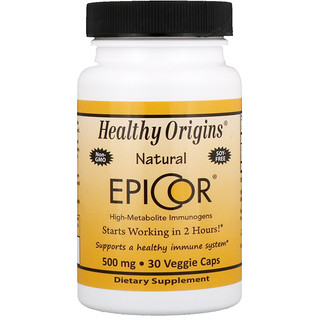 Healthy Origins, EpiCor,500 毫克,30 粒素食胶囊