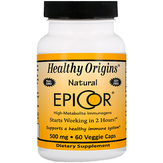 Healthy Origins, EpiCor,500毫克,60粒素食胶囊