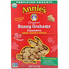 Annie's Homegrown, Organic Bunny Grahams, Cinnamon, 7.5 oz (213 g)