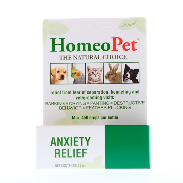 HomeoPet, Anxiety Relief,  15 ml (Discontinued Item)