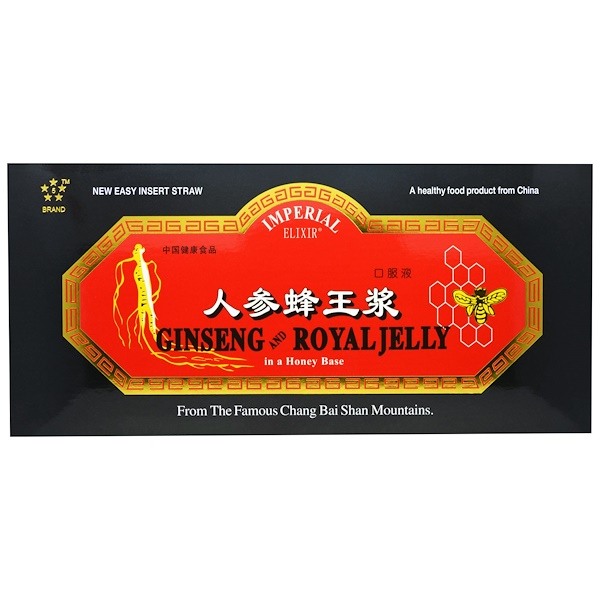 Ginseng & Royal Jelly, 30 Bottles, 0.34 fl oz (10 ml) Each