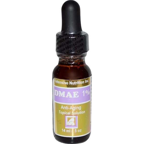 Intensive Nutrition, DMAE 1%, Anti-Aging Topical Solution, .5 oz (14 ml) (Discontinued Item)