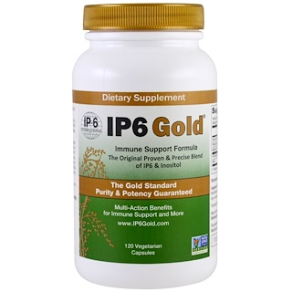 IP-6 International, IP6 Gold,抵抗支持配方,120粒素食胶囊