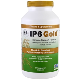 IP-6 International, IP6 Gold,抵抗支持配方,240粒素食胶囊
