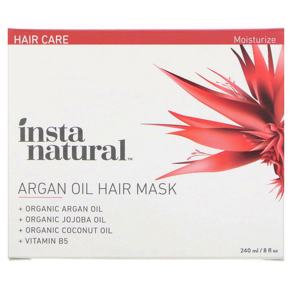 Argan Oil Hair Mask, 8 fl oz (240 ml)