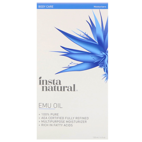 InstaNatural, Emu Oil, Body Care, Moisturizers,  4 fl oz (120 ml)