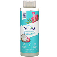 St. Ives, Hydrating Body Wash, Coconut Water & Orchid, 16 fl oz (473 ml)
