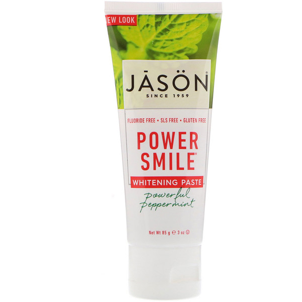 Power Smile, Whitening Paste, Powerful Peppermint, 3 oz (85 g)