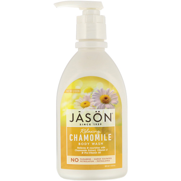 Body Wash, Relaxing Chamomile, 30 fl oz (887 ml)