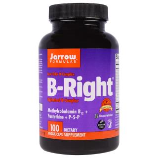 Jarrow Formulas, B-Right, 100粒植物胶囊