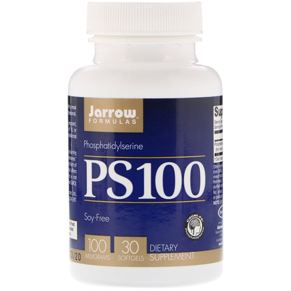 PS100, Phosphatidylserine, 100 mg, 30 Softgels