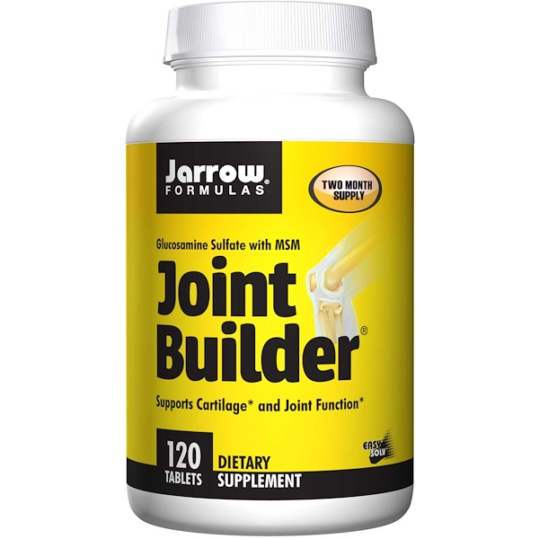 Jarrow Formulas, Joint Builder,硫酸氨基葡萄糖,含二甲基砜,120片