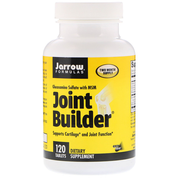 Joint Builder, Glucosamine Sulfate with MSM, 120 Tablets