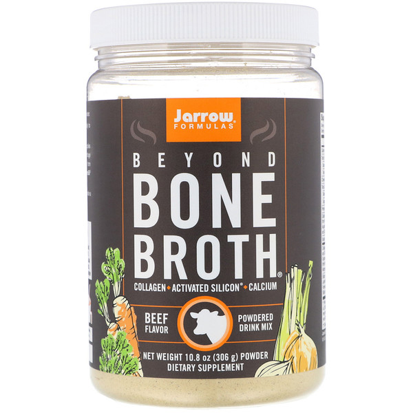 Jarrow Formulas, Beyond Bone Broth,牛肉味,10.8盎司(306克)