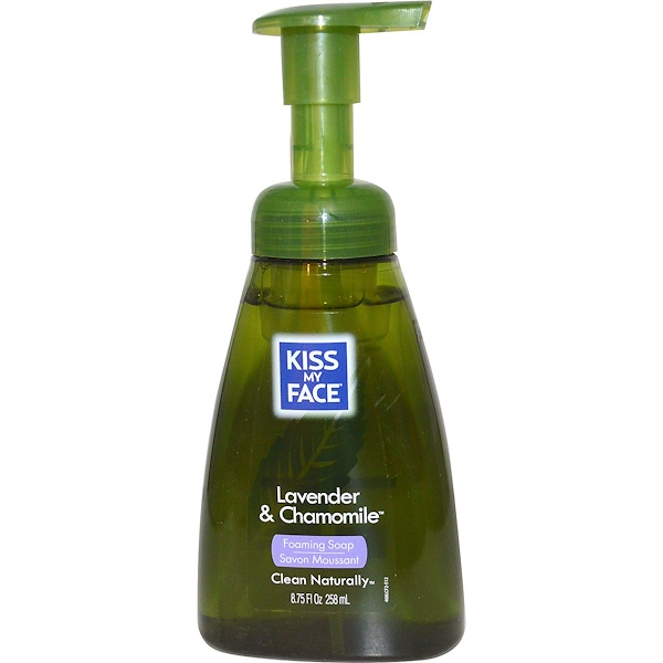 Kiss My Face, Foaming Soap, Lavender & Chamomile, 8.75 fl oz (258 ml) (Discontinued Item)