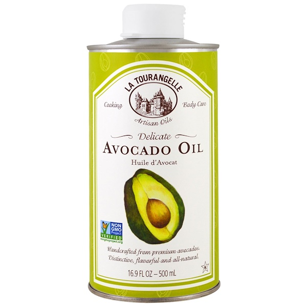 La Tourangelle, Delicate Avocado Oil, 16.9 fl oz (500 ml)