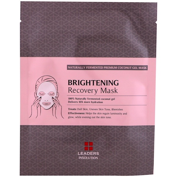 Coconut Gel Brightening Recovery Mask, 1 Mask