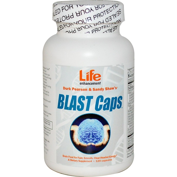 Life Enhancement, Blast Caps胶囊,120粒