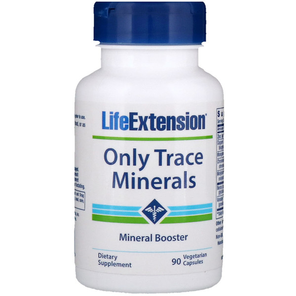 Life Extension, Only Trace Minerals, 90 Vegetarian Capsules
