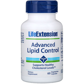 Life Extension, Advanced Lipid Control, 60 Vegetable Capsules