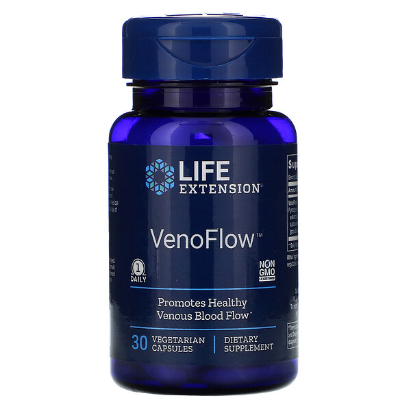 Life Extension, VenoFlow素食胶囊,30粒