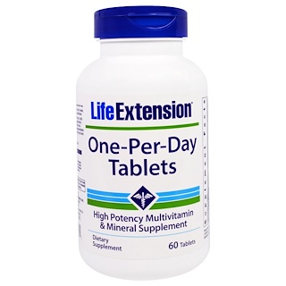 Life Extension, One-Per-Day片剂,60片