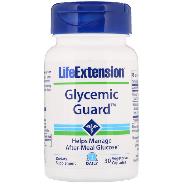 Life Extension, Glycemic Guard,30粒素食胶囊