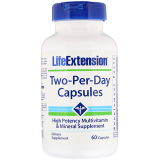 Life Extension, Two-Per-Day Capsules, 60 Capsules