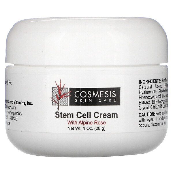 Life Extension, Cosmesis Skin Care, Stem Cell Cream, 1 oz (28 g) (Discontinued Item)