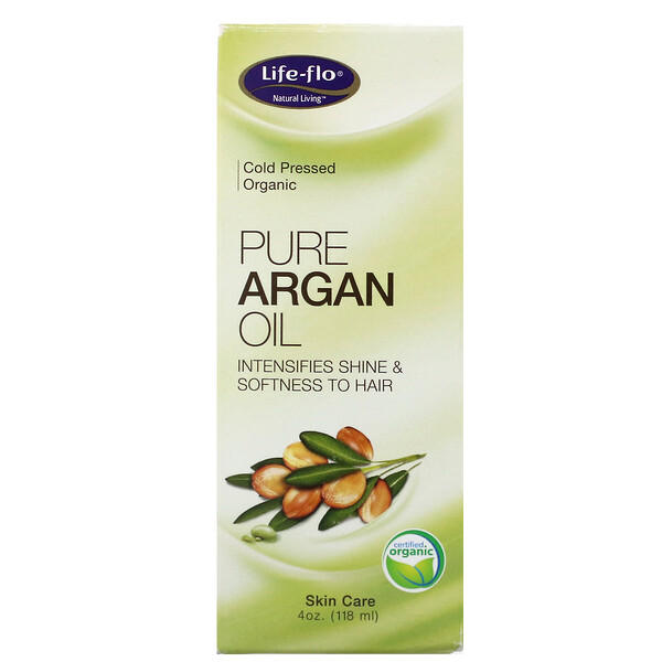 Pure Argan Oil, 4 oz (118 ml)