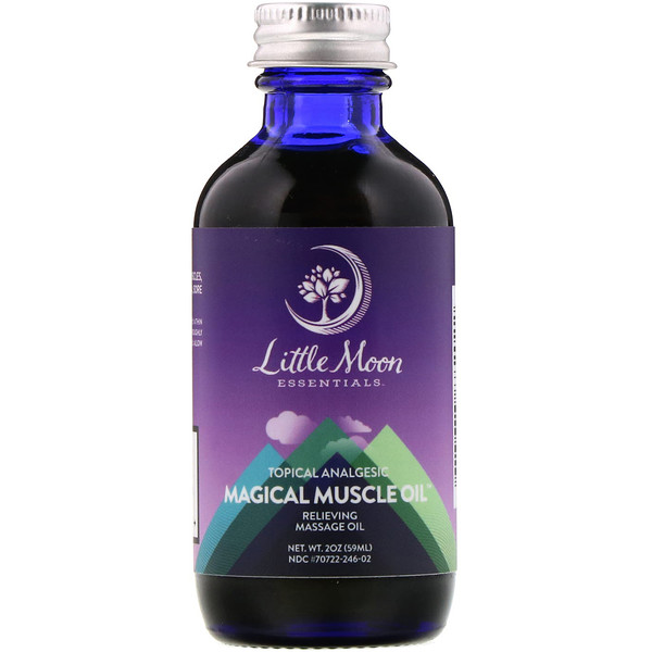 Magical Muscle Oil, Relieving Massage Oil, 2 oz (59 ml)