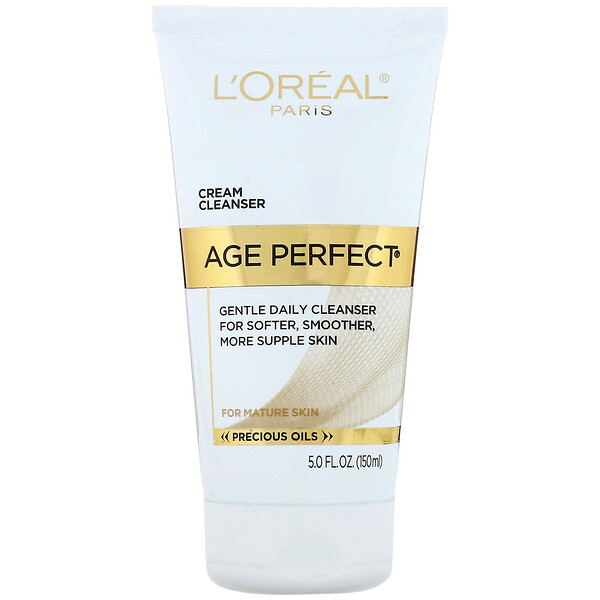 L'Oreal, Age Perfect, Gentle Daily Cleanser, 5 fl oz (150 ml) (Discontinued Item)