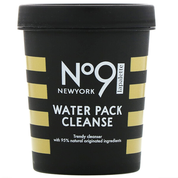 No.9 Water Pack Cleanse, #01 Jelly Jelly Lemon, 8.81 oz (250 g)