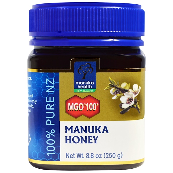 Manuka Honey, MGO 100+, 8.8 oz (250 g)
