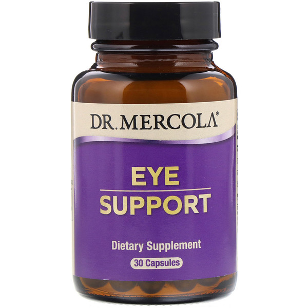 Dr. Mercola, Eye Support, 30 Capsules