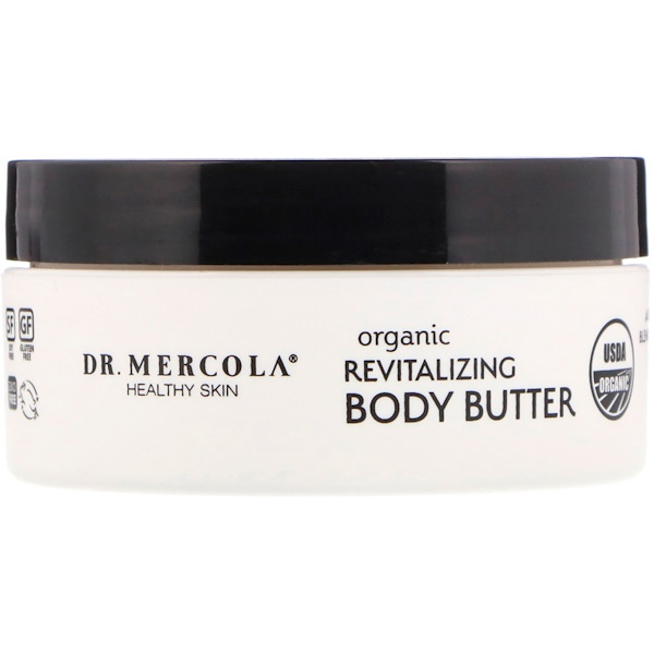 Dr. Mercola, Organic Revitalizing Body Butter, Sweet Orange, 4 oz (Discontinued Item)