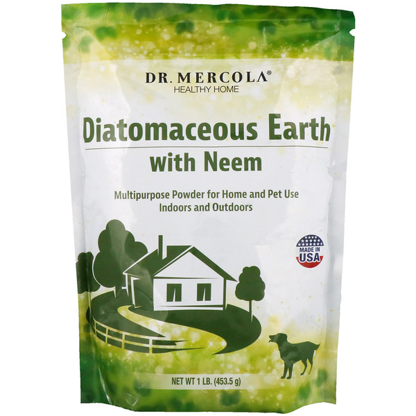 Diatomaceous Earth with Neem, 1 lb (453.5 g)
