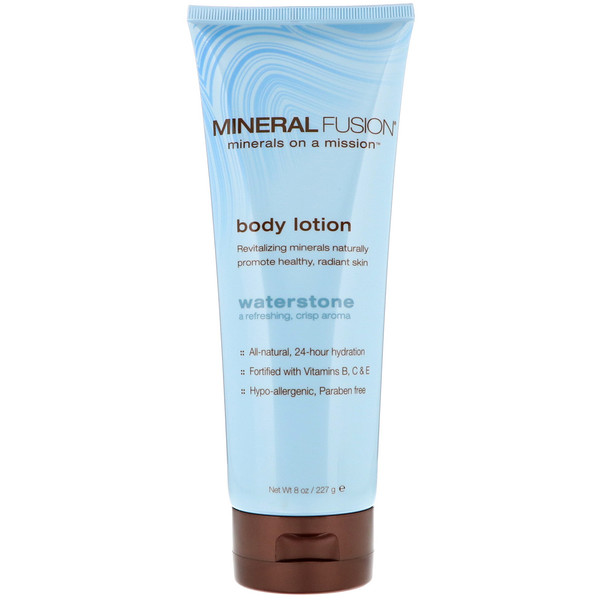 Mineral Fusion, Body Lotion, Waterstone, 8 oz (227 g)