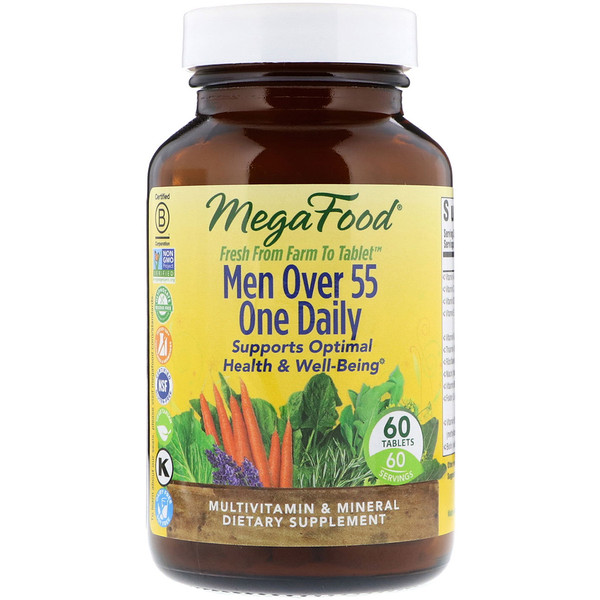 Men Over 55 One Daily, Multivitamin & Mineral, 60 Tablets
