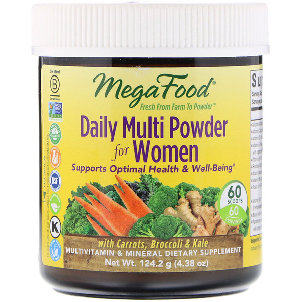 Daily Multi Powder for Women, 60 Scoops