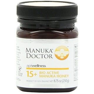 Manuka Doctor, Apiwellness, Bio Active 15+ Manuka Honey, 8.75 oz